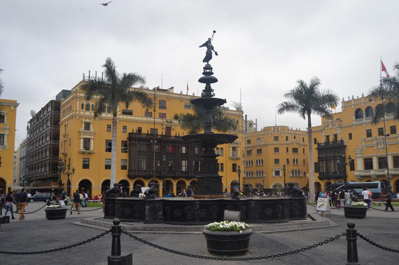 Peru Lima Plaza de Armas