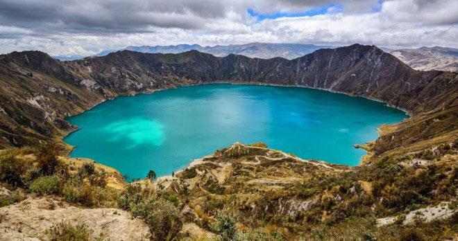 Quilotoa Jrater Lake Ecuador Tour