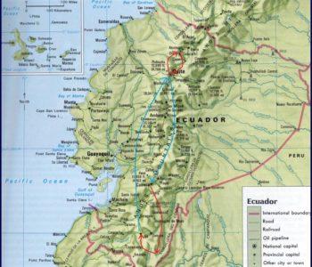 Map Retiring Ecuador