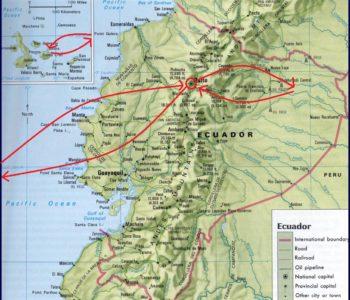 Nature-Ecuador-map