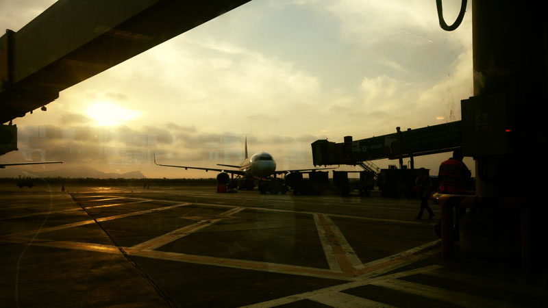 Ecuador and Peru Airport in Lima