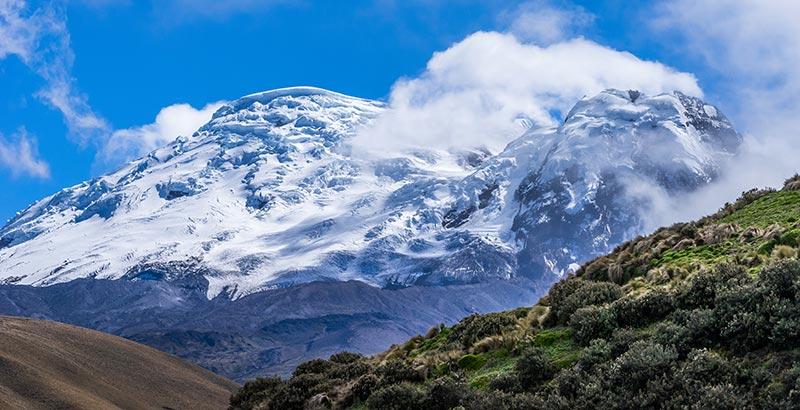 Volcanoes in Ecuador