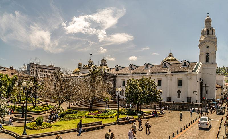 Ecuador Independence Square