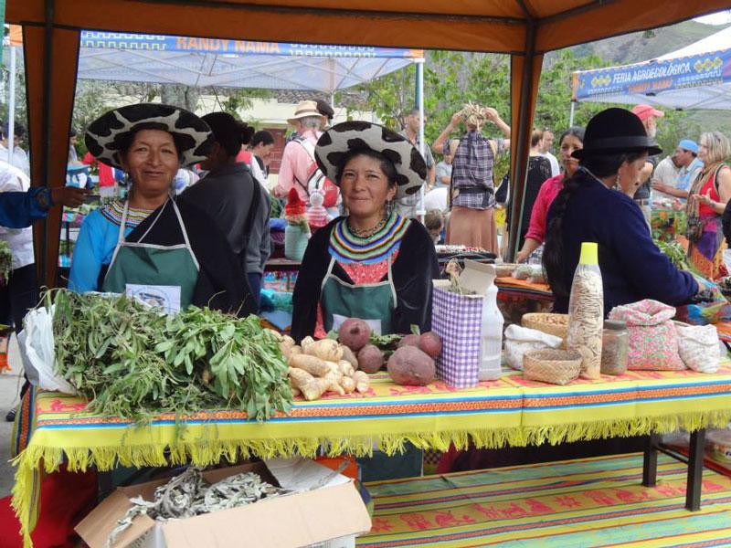 Vilcabamba Indian Market