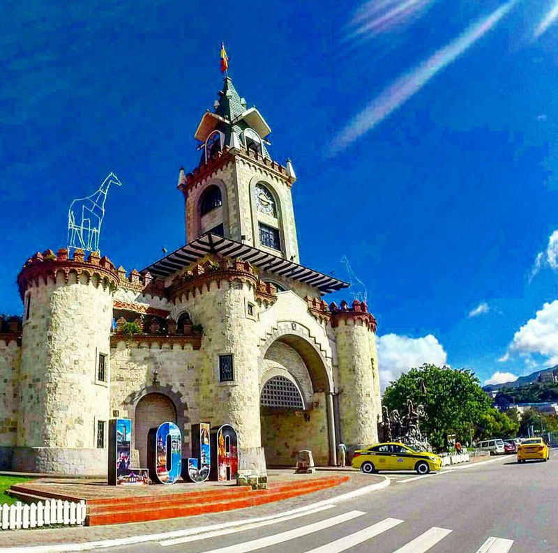 Loja City Entrance