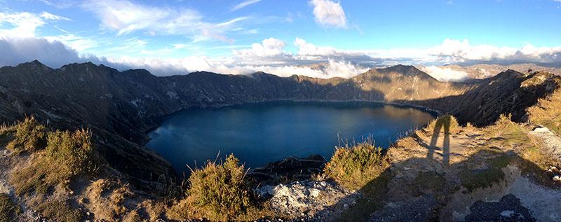 Lakes in Ecuador