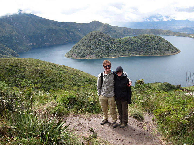 View Point In Cuicocha Lake