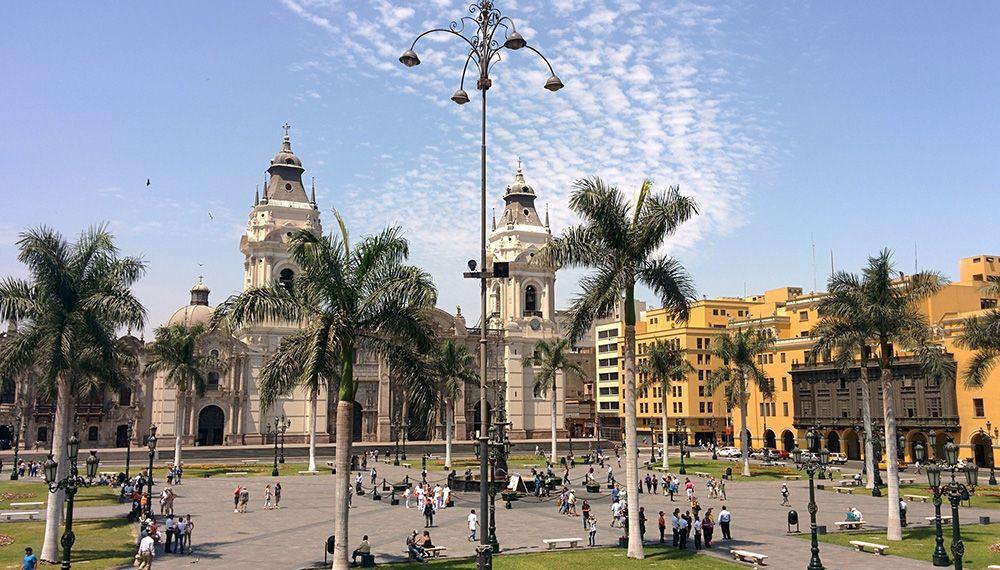 Lima Plaza Peru