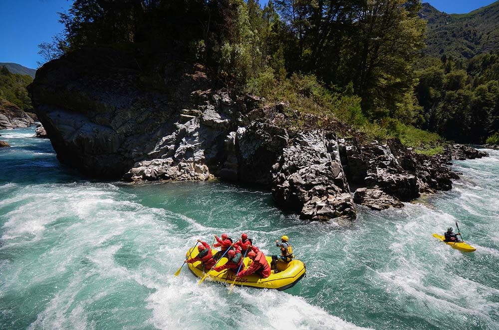Rafting in Bariloche
